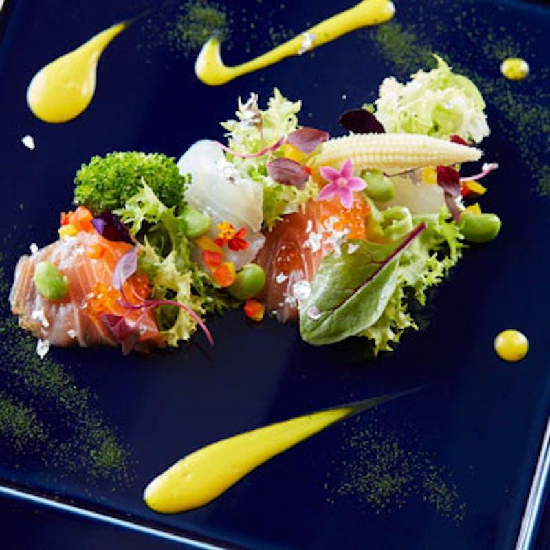【季節のコース】アミューズ・前菜2品・スープ・お魚料理・お肉料理など