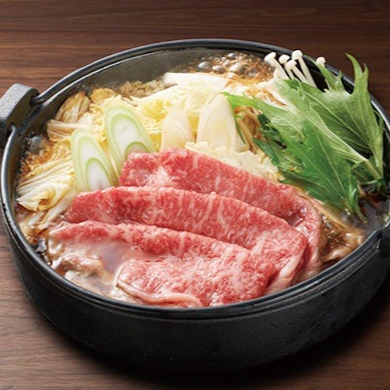 【特選米澤牛のすきやきコース】お造り、旬の魚料理、しゃぶしゃぶなど全7品