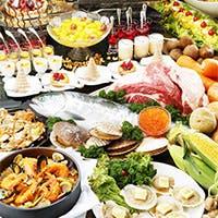 テーマごとに変わる彩り溢れるお料理の数々