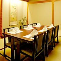 和の情緒漂う優美な空間 ご接待や宴会に重宝する個室も完備