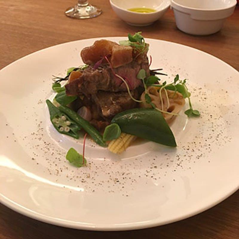 【Bコース】魚料理&肉料理のWメインなど全6品