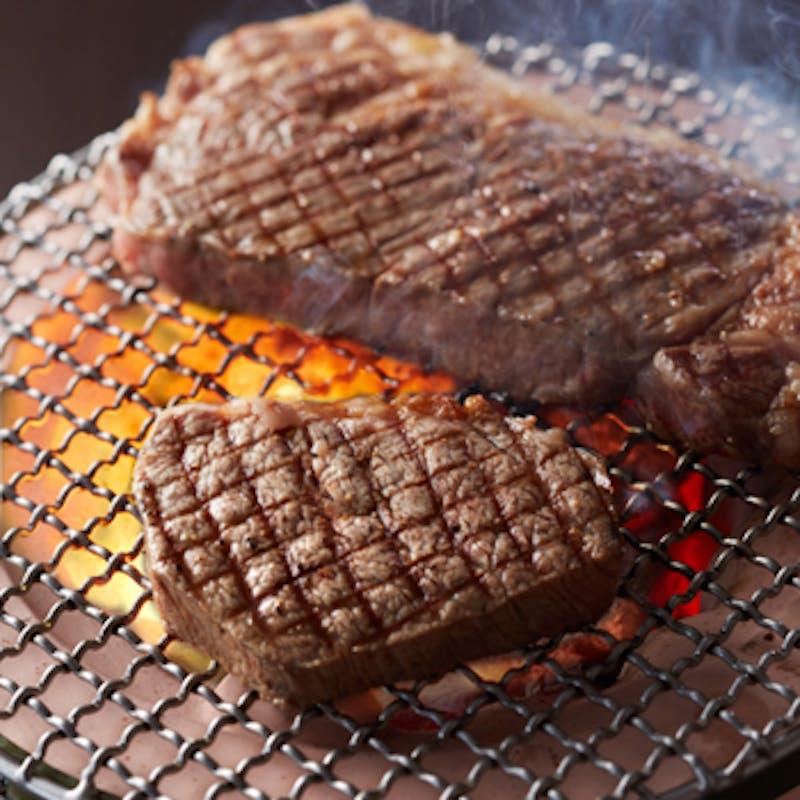 【数量限定】アルゼンチン牛2種食べ比べプラン+1drink