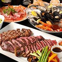 ステーキなど厳選した美味しいお肉使用の肉料理を中心に