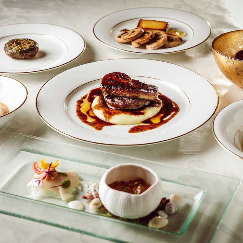 【GINZAの洋食スペシャリティコース】人気で定番の料理をコース仕立てに全8品+3h飲み放題(タイムセール)