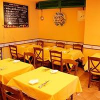イタリアの田舎のレストランに来たような感覚を