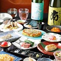 贅沢食材を使用した鉄板焼き料理とお料理に合う日本酒をご用意