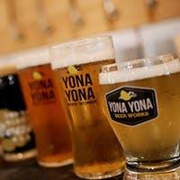 ビールはすべて、浅間山麓の醸造所から直送