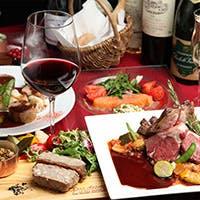豊富なアラカルトメニューからお好きな料理をお選びいただけるコース