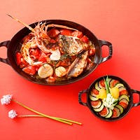 こだわりの厳選食材をシンプルかつ大胆に調理した環地中海料理をお楽しみください