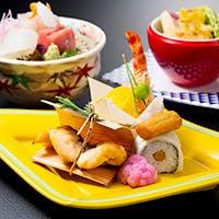 季節の御会席料理と、旬の素材を使った日本料理店
