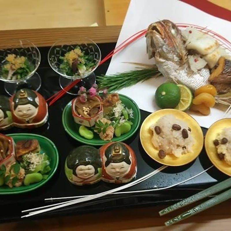 【季節の日本料理】全10品(記念日・誕生日に)