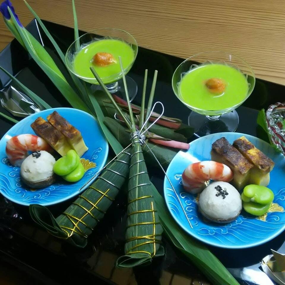 遊び心と伝統技術の融合 店主の人柄が表れる日本料理をご堪能ください