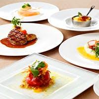 記念日や大切な接待にも相応しい本格フレンチのコース料理