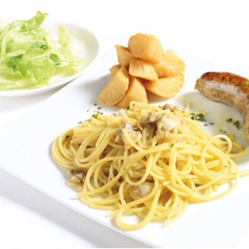 【ランチCコース】魚&肉料理のWメイン・パスタ・デザート等全6品