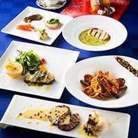 京野菜など旬の食材を堪能できる大人のレストラン