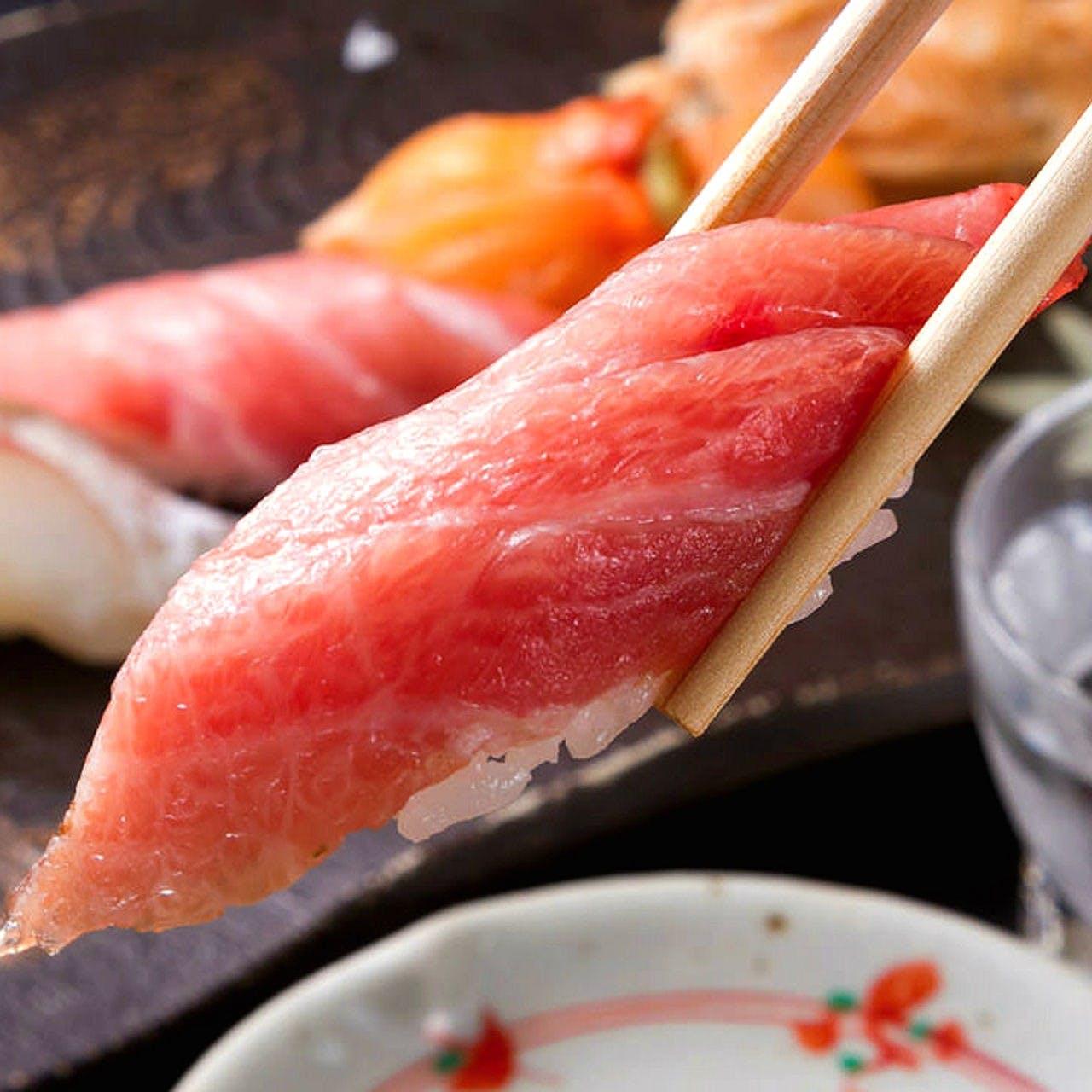 匠の技による珠玉の寿司を