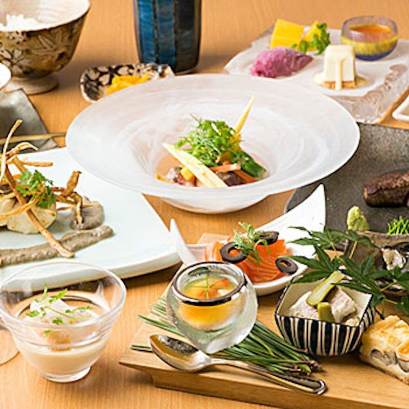 【ランチ7品コース】魚&牛フィレのメインなど+1ドリンク付でお得(期間限定)