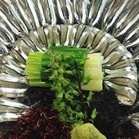 鹿児島から空輸する食材を使用した本場の薩摩料理