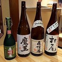 東京ではどこにも負けない芋焼酎の銘柄を取り揃え