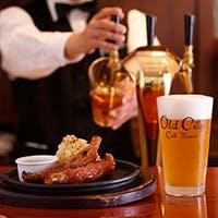 12種類のアメリカクラフトビールと、アメリカ各地域の郷土料理など豊富なメニュー