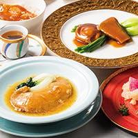 気仙沼の最高級のフカヒレを拘りの4種のソースで堪能