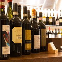 日本とイタリア、両方のソムリエ資格を持つオーナー厳選のイタリアワイン