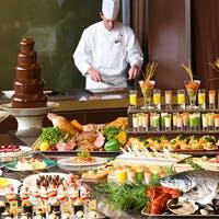 ワールドワイドなお料理をブッフェスタイルで