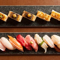 クラシックな握り寿司やカナダのお寿司もご提供