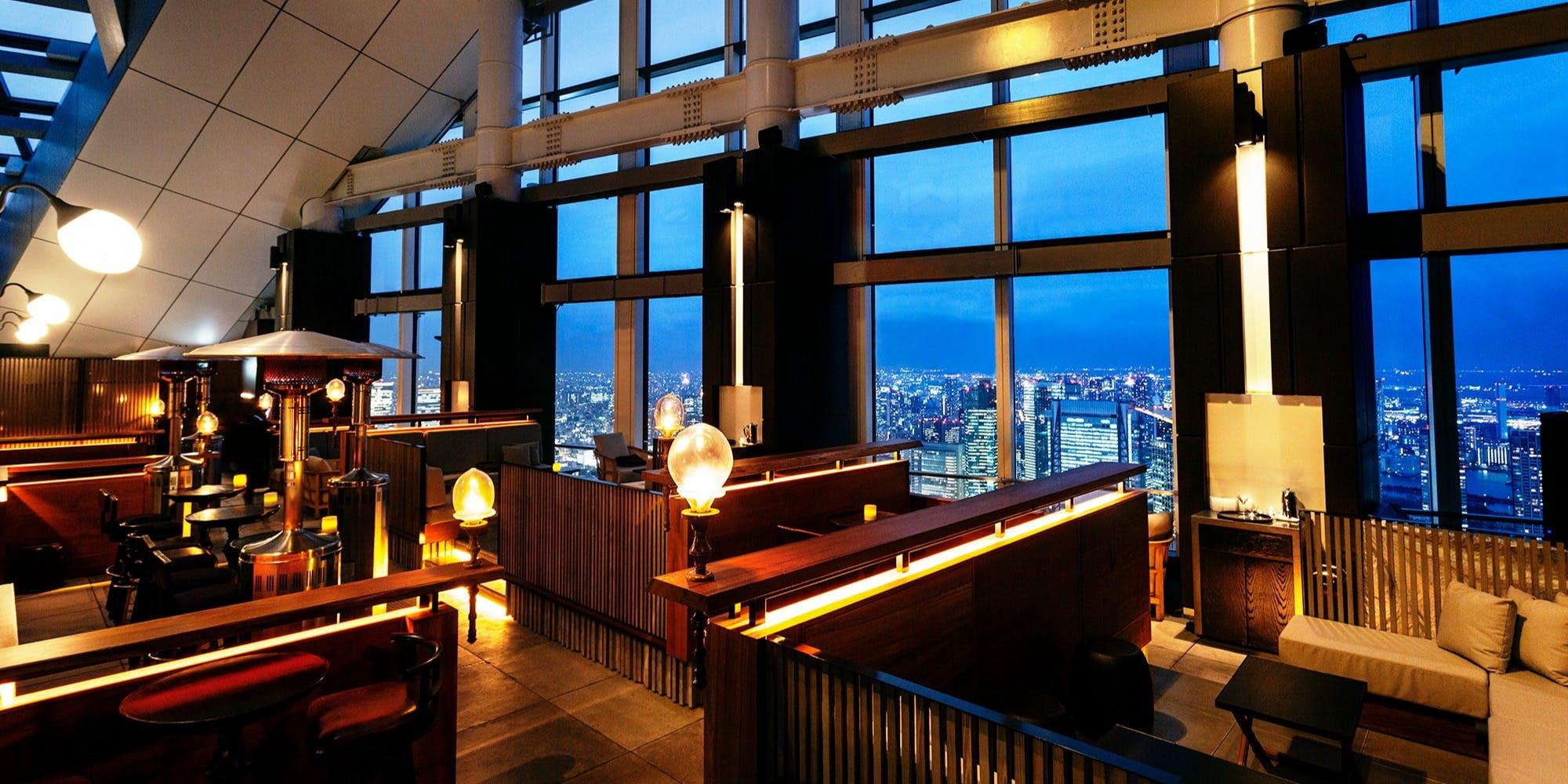 記念日におすすめのレストラン・Rooftop Bar・ the SUSHIの写真1