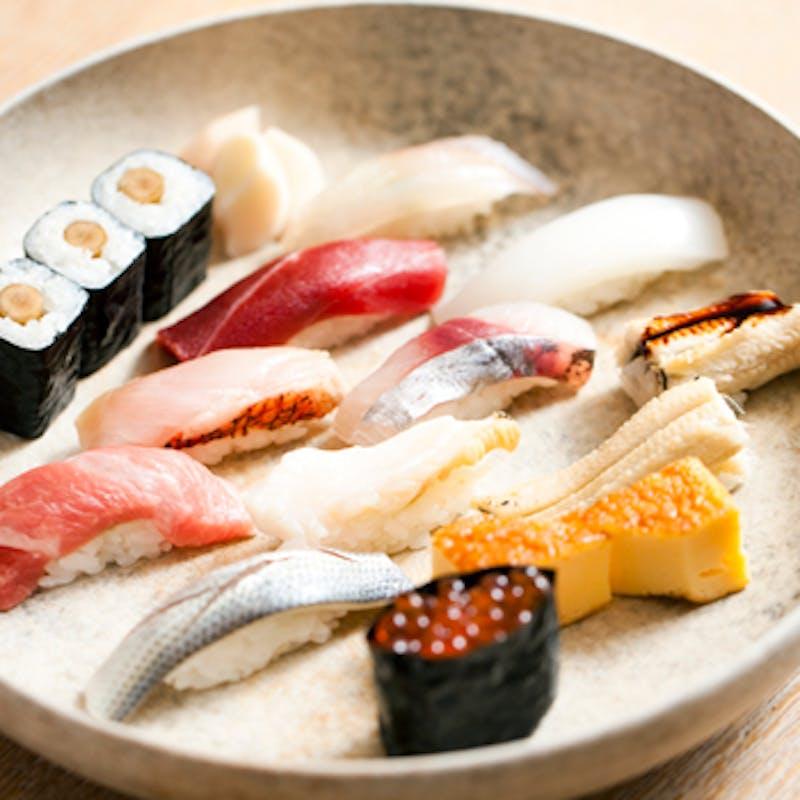 寿司おまかせコース<虹の月>