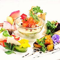 新鮮&安心な有機野菜のイタリアン