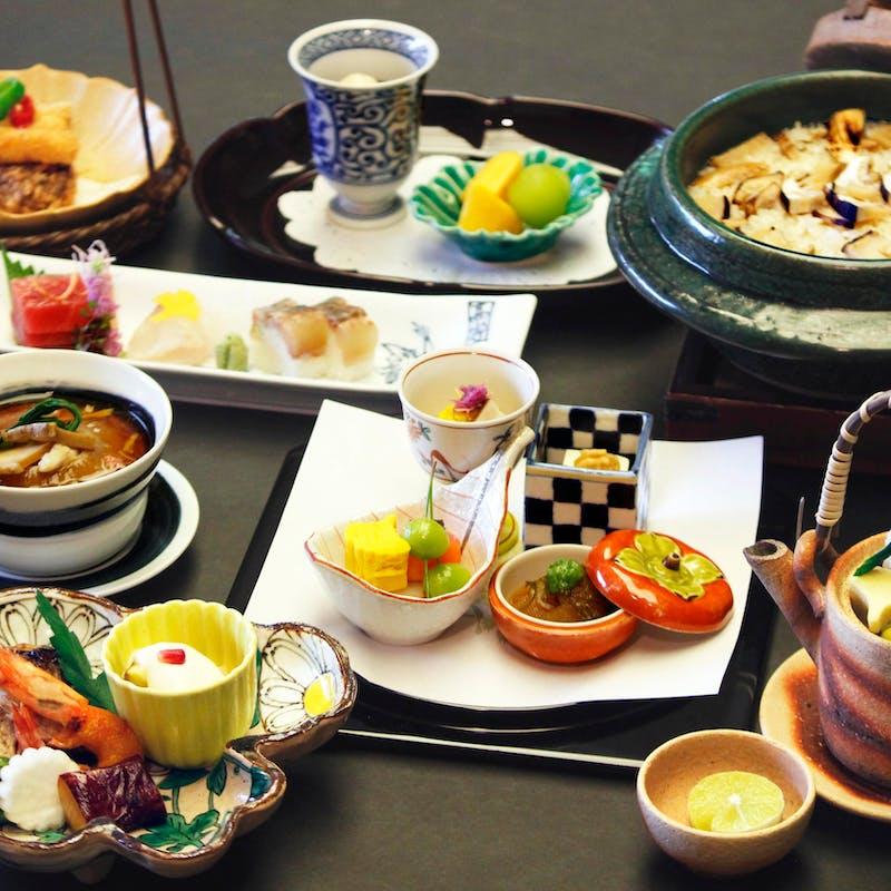 【月会席】お造り 合肴 焼き物 など全8品