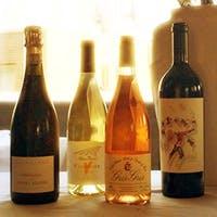 料理との相性を考え、厳選されたワイン