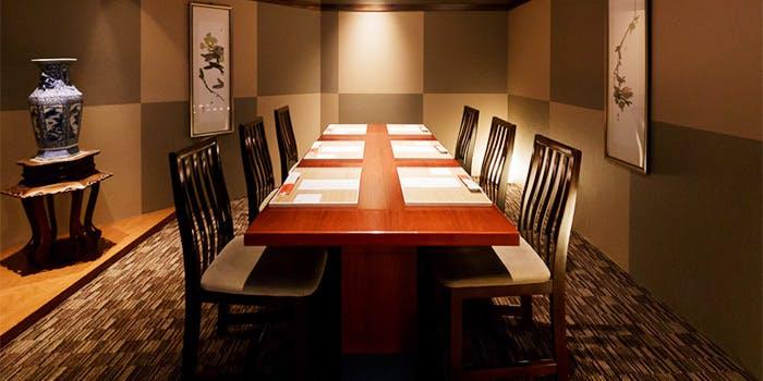 記念日におすすめのレストラン・西梅田 禅園の写真1