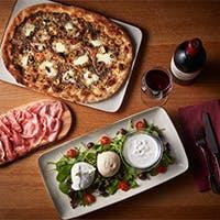 イタリアから空輸される最高のフレッシュ・モッツァレラチーズとイタリアワインを