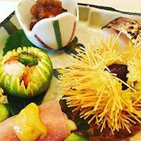その日にしか出会えない「希」(まれ)で「粋」(いき)な日本料理