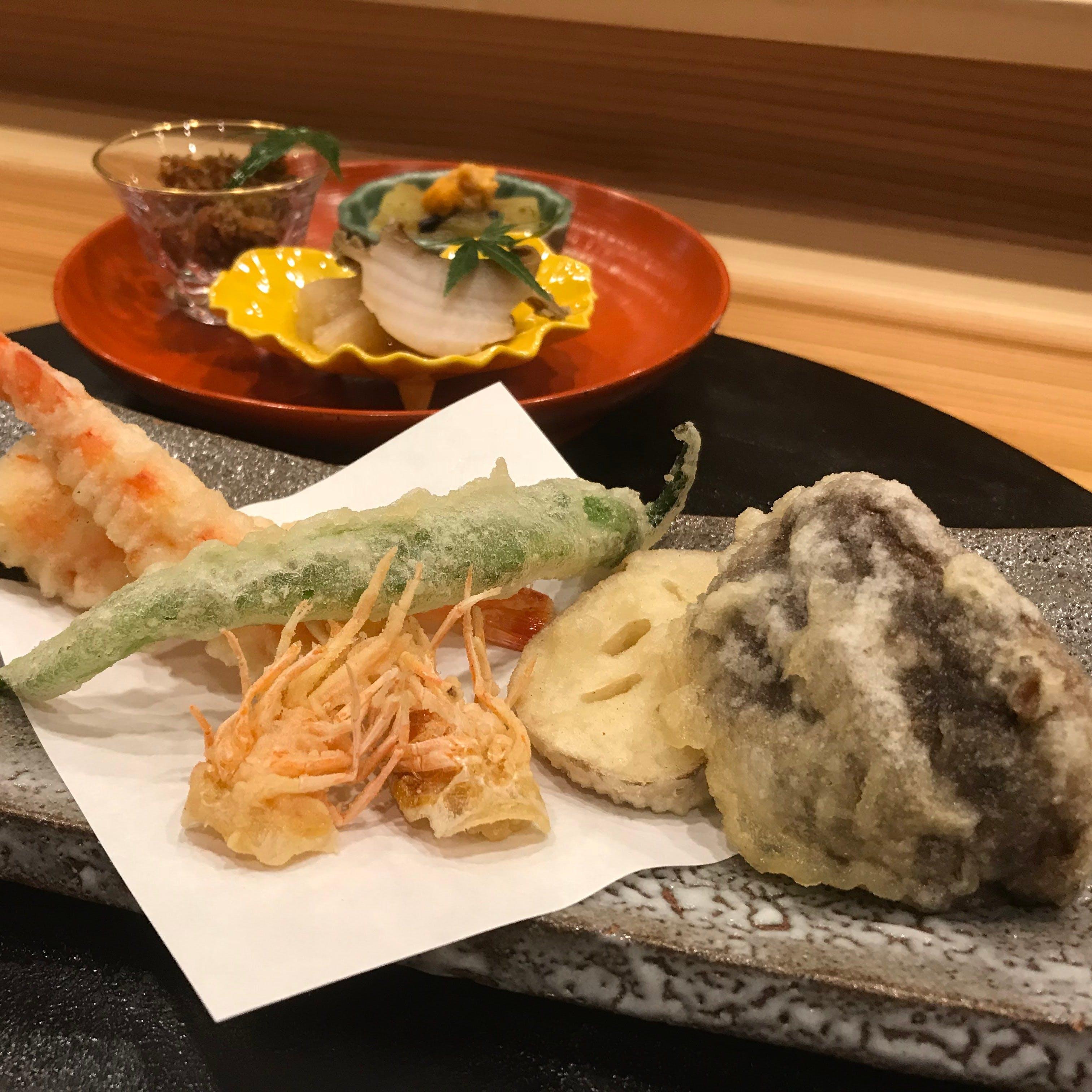 ほんまもんの天ぷらと割烹の味