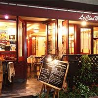 PARISのビストロを思わす神楽坂のレストラン