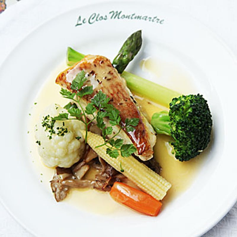 ~Le Menu du chef~ アミューズ+前菜盛合せ+ドゥミスープ+スペシャリテ+デザート+ドリンク