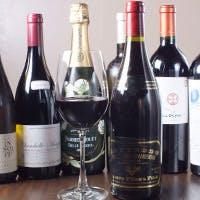 オーナーソムリエによる厳選ワイン