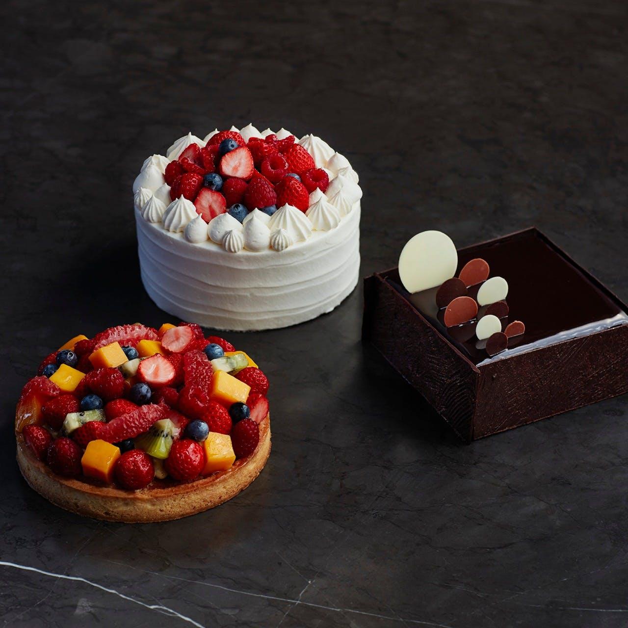 ペストリーシェフ自慢のチョコレートケーキ (10cm)