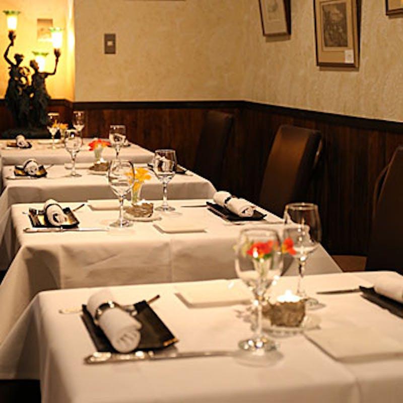 【Bコース】旬の食材を贅沢に使用した魚&肉のWメインのフルコース全7品