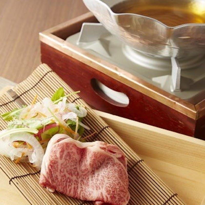 【昼の宴】特選近江牛 すき焼きコース 雅 miyabi