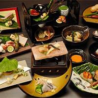京都の古き良き伝統を伝え、自在な創造で新しいスタイルによる京懐石