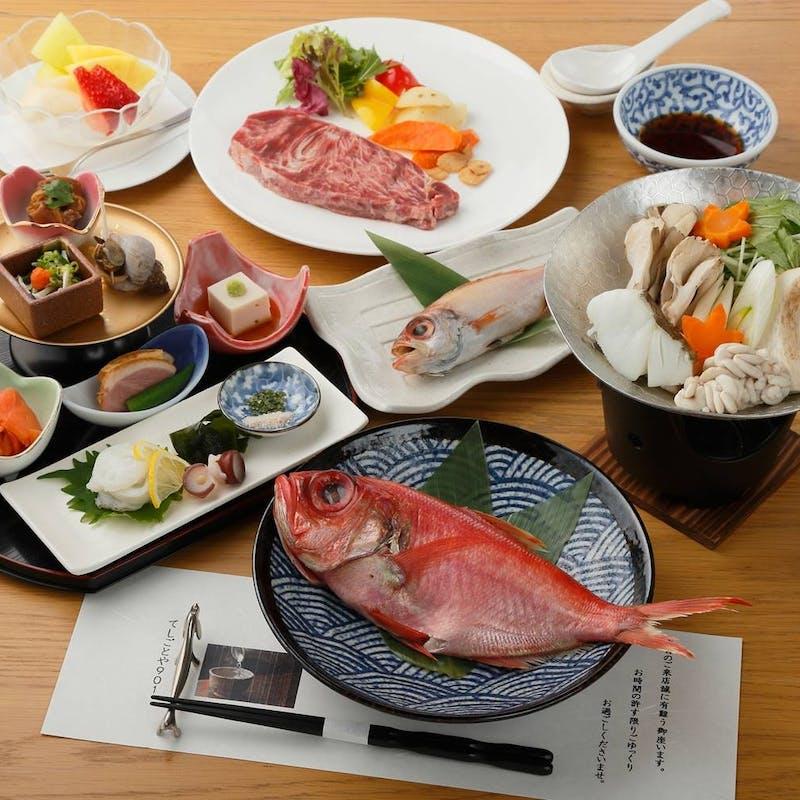 【おまかせコース】旬の食材を愉しむ全8品