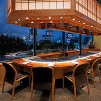 東京ミッドタウンの緑豊かなガーデンテラスが見渡せる絶好のロケーション