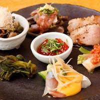 正しい日本料理をいただく