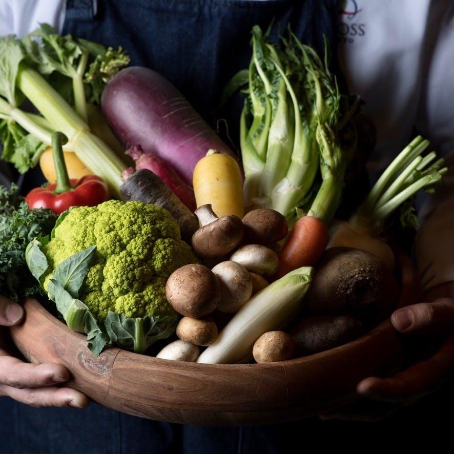 野菜中心の御馳走