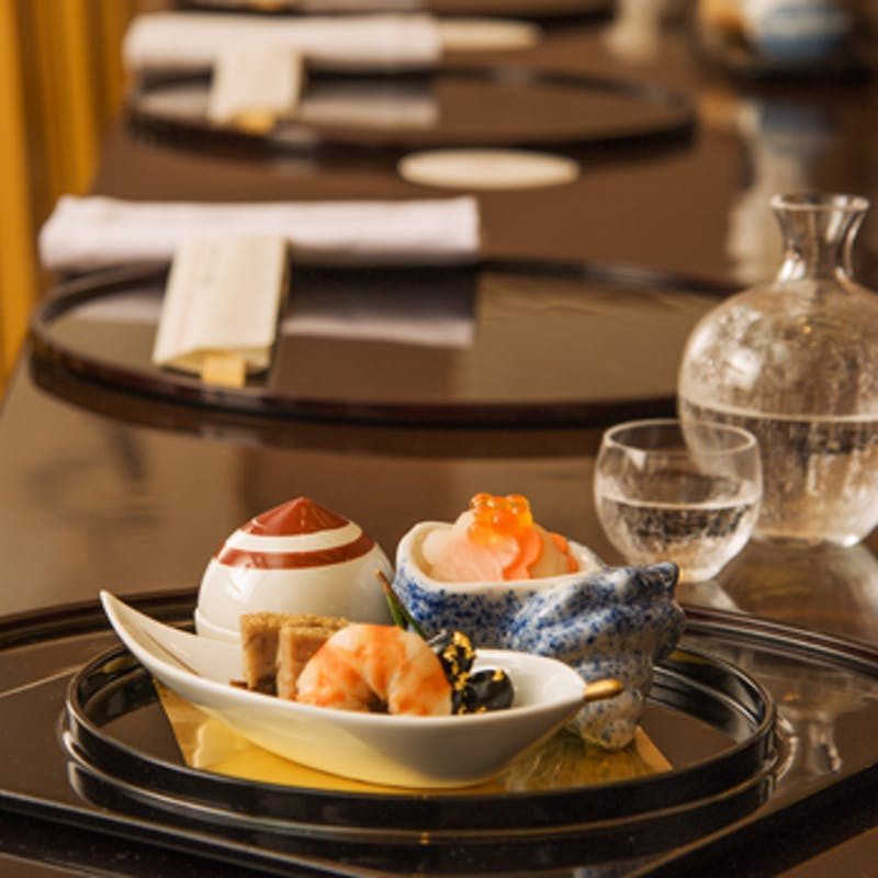 【四季のコース】季節の天ぷら、八寸、造り 全8品+2時間飲み放題【焼酎の種類豊富】