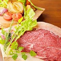 食材には岩手の名物、赤ベコ「短角牛」の他、伝統野菜をふんだんに使用